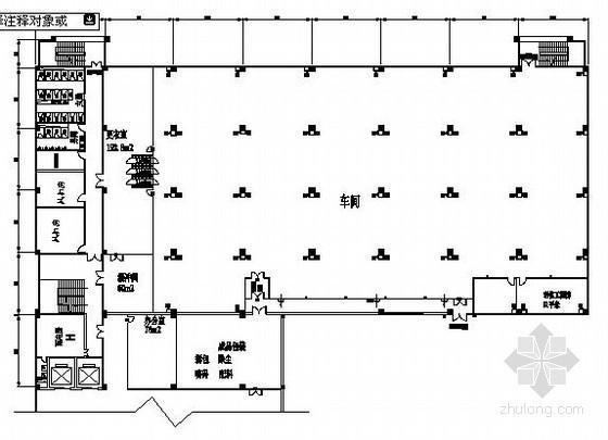 [广州]净化车间空调系统设计施工图纸