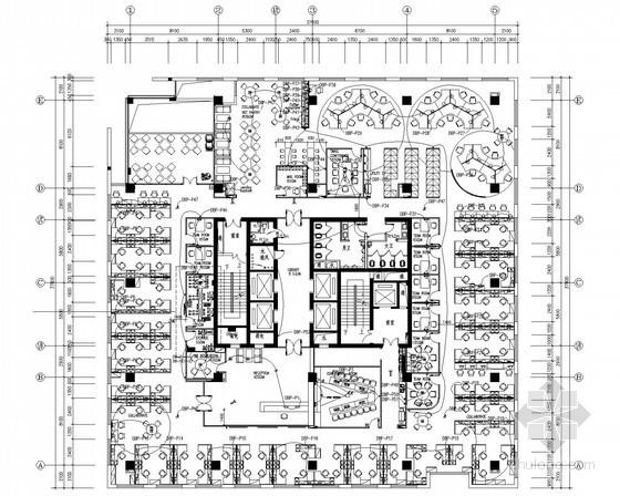 [四川]客户办公用房室内二次装修机电系统施工图