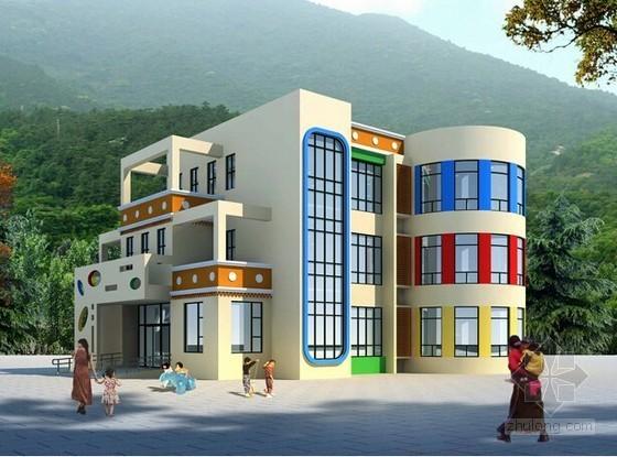 [重庆]镇中心幼儿园室内装饰及室外景观工程招标文件