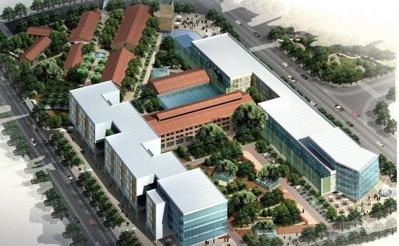 [广东]纺织创意园区规划及单体建筑设计方案文本