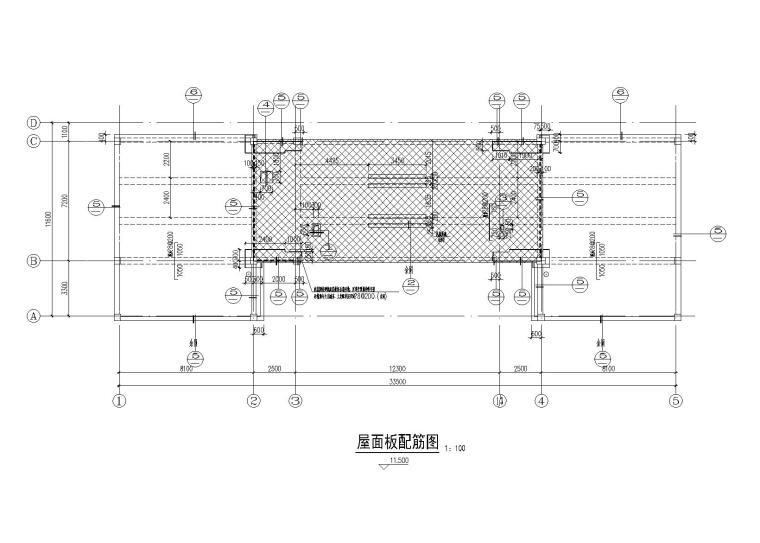 [淮安]3层钢混框架结构会所结构施工图