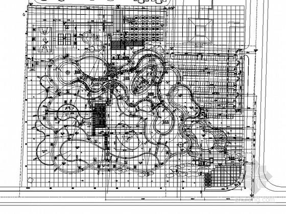 [潍坊]小区周边附属公园园林景观工程施工图