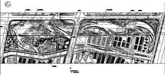 上海某小区主题公园平面图