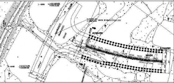某道路绿化带喷灌施工图