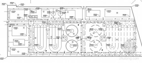 某城市污水处理厂全套设计图(卡鲁赛尔氧化沟工艺)