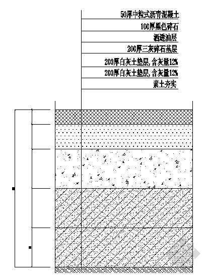沥青路面结构图