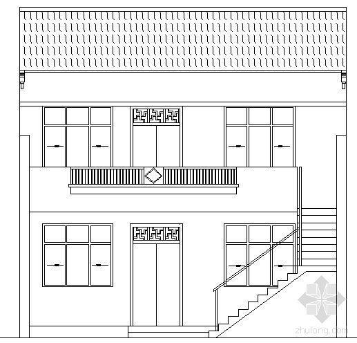 山西某二层农居(丰安居)建筑结构施工图