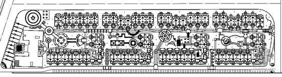成都小区施工图设计(含水电植配土建施工图)