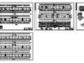 聊城某三层砖混教学楼建筑结构图
