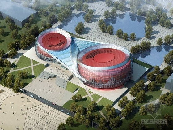 [山西]某三层大剧院建筑设计方案文本