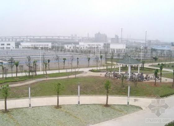 芜湖某污水处理厂施工组织设计(12万m3/d)