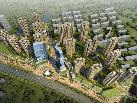 [江苏]可持续发展住宅区及单体设计方案文本(知名事务所)