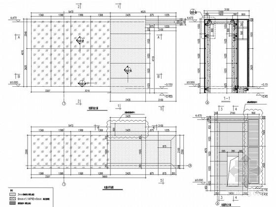 电梯井幕墙结构设计图