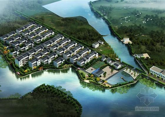 [安徽]2015年7月美好乡村整治工程预算书及施工图纸(道路景观亮化)