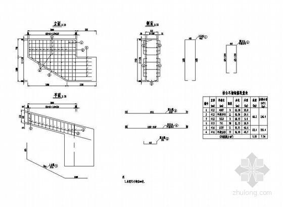 3×10米预应力混凝土空心板成套cad设计图纸
