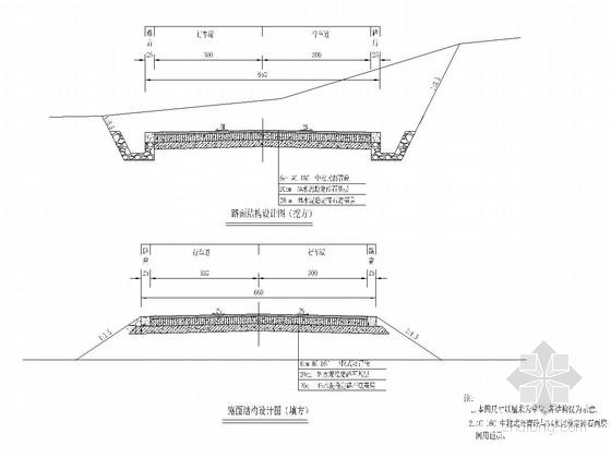 [重庆]村级公路路基路面施工图设计90张