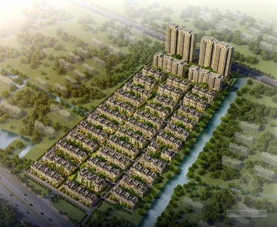 [江苏]简欧风格低高层住宅及别墅建筑设计方案文本(含100多张CAD)
