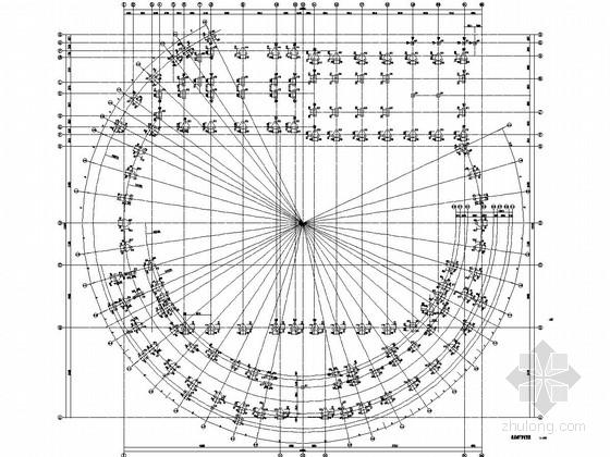 湖南工人文化宫下部混凝土结构施工图(含计算书)