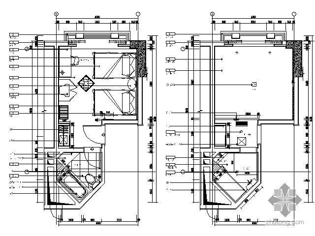 酒店标准间平面图Ⅰ