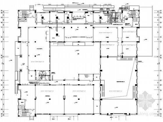 [浙江]教育研究院空调通风及防排烟系统设计施工图(含节能环保设计)