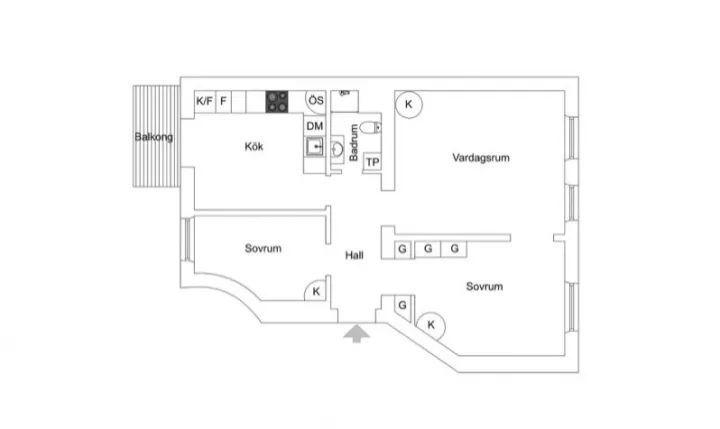 90平米两室一厅怎么装修,才对得起房价?_5