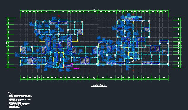 地上22层地下4层桩基础框架剪力墙住宅楼结构施工图_10