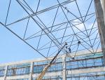 网架结构网格尺寸确定有哪些原则?