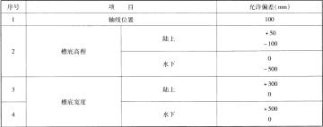 航道整治工程施工规范(附条文说明)