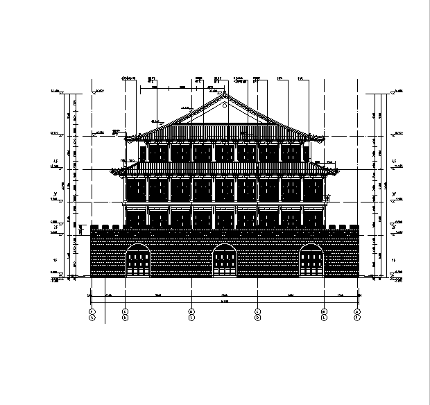 [辽宁]18栋商贸楼建筑施工图(含机电——结构图纸)_1