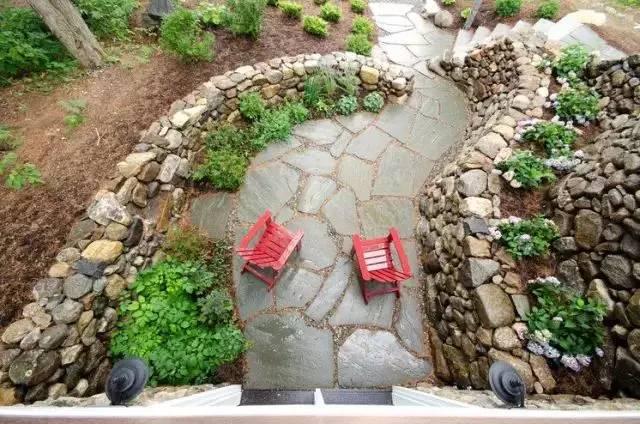 你的庄园里有这样的石元素创意景观吗?_11