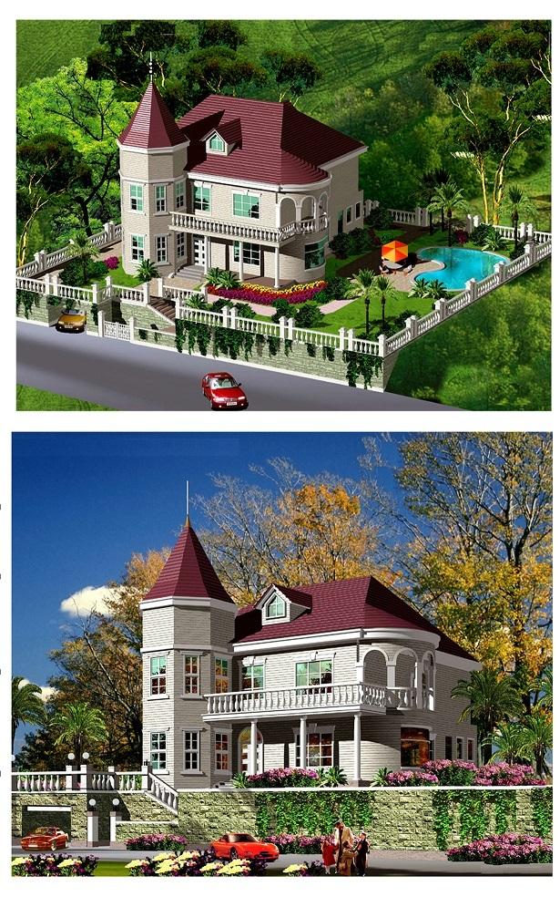 新农村建设全套建筑图_3