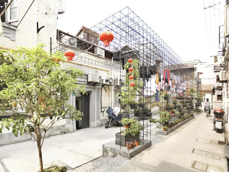 上海西里弄社区道路景观