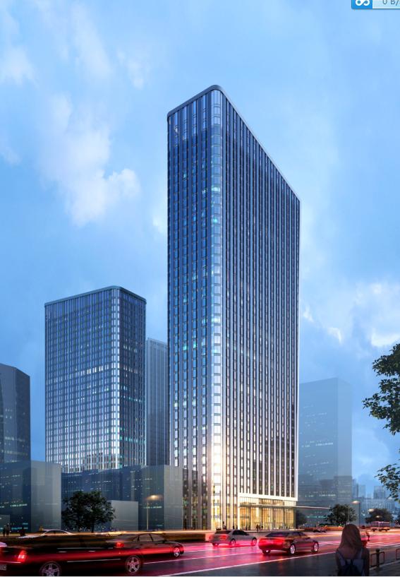 [武汉]保利高层住宅及超高层办公楼建筑方案文本(两套方案)_4