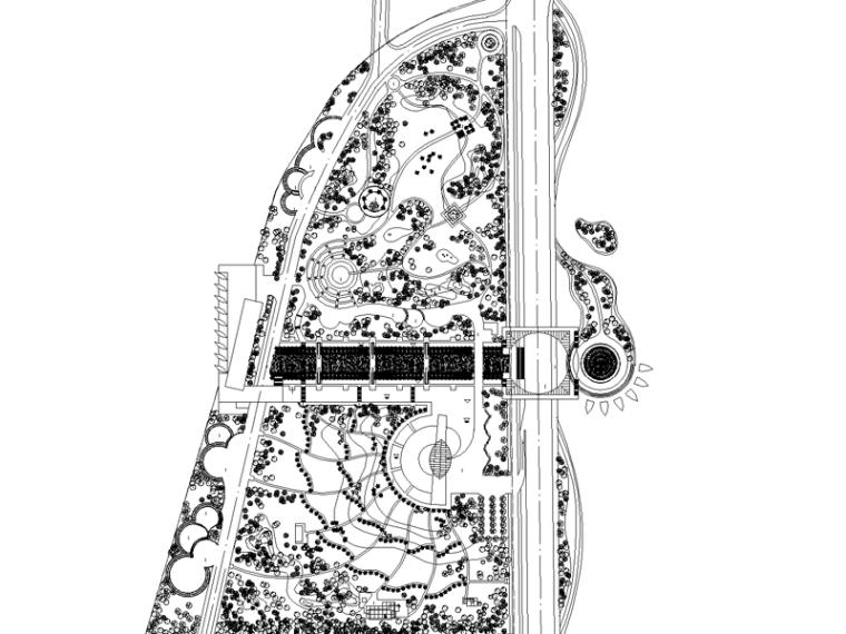 [福建]厦门海洋景观软件规划设计cad施工图公园uiv海洋入门图片