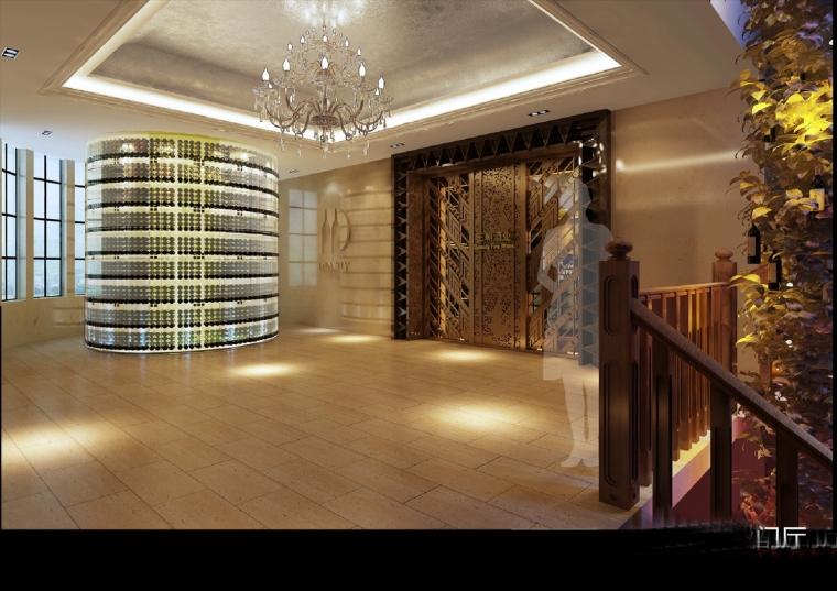 高档典雅红酒展示厅设计方案图-设计图 (4).jpg