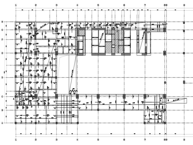 绿建|22层办公楼结构施工图2018(PDF、CAD