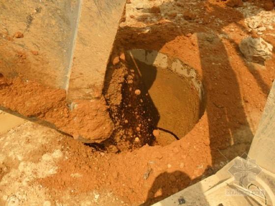 南宁岩溶地区干作业旋挖灌注桩施工与质量控制