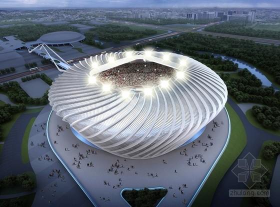 体育馆工程有粘结预应力专项施工方案(附图丰富)
