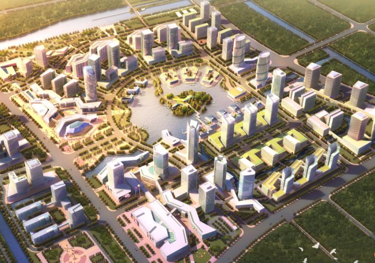 [上海]莘庄商务中心修建性详细规划设计方案文本