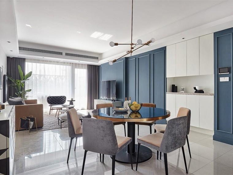 120m²现代风格住宅