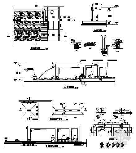 某小区景墙施工图-4