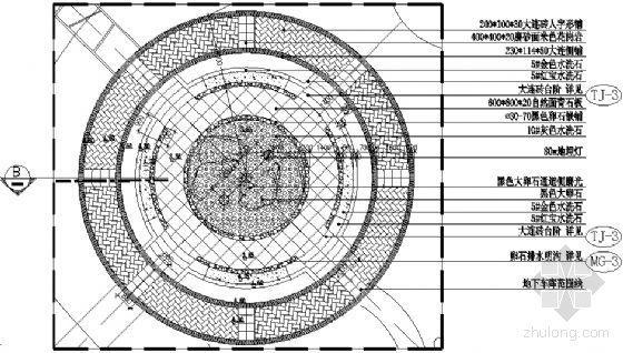 下沉式广场施工详图
