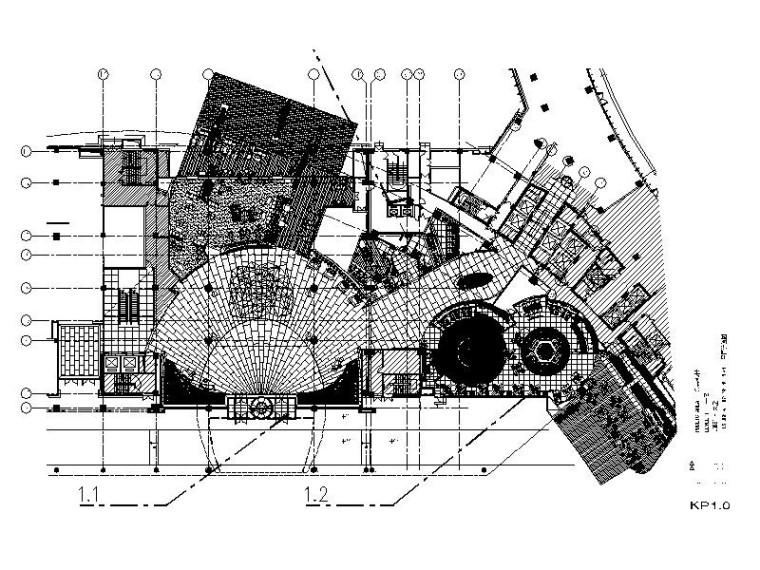 [内蒙古]国际时尚奢华精品假日酒店CAD施工图(含效果图)
