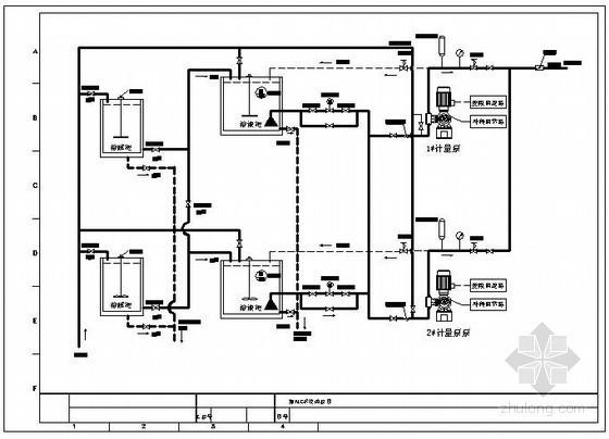 某水厂加药工艺流程图
