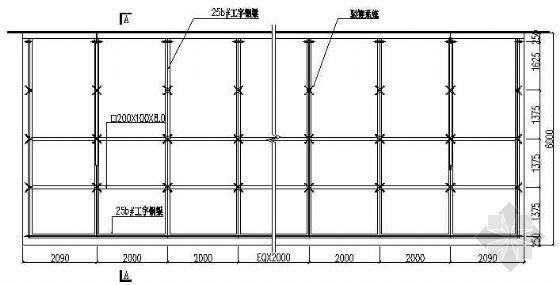 钢结构玻璃雨棚结构施工图