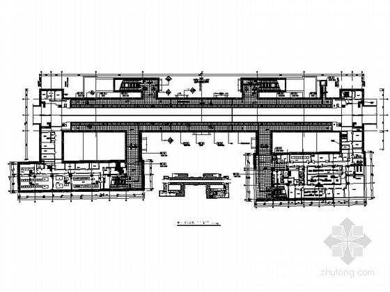 [北京]地铁站公共区域装修工程CAD施工图(含效果图)
