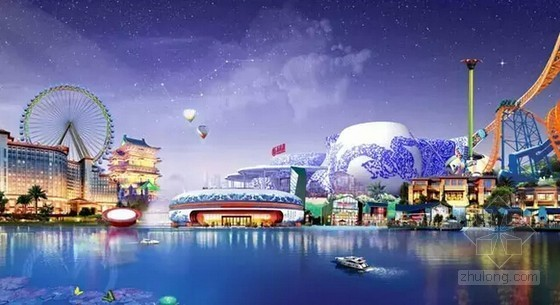 [江西]知名地产公司超大型室外主题乐园暖通施工图(6大主题区及后勤区)