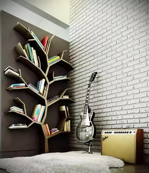 看完别把家里柜子掀了,让人掀桌的书柜设计