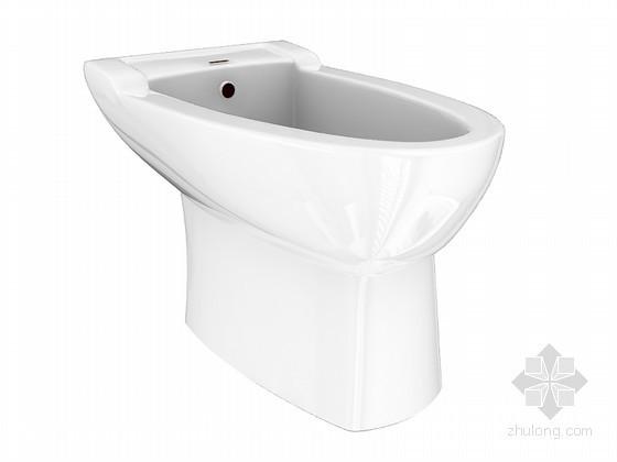 家用马桶3D模型下载