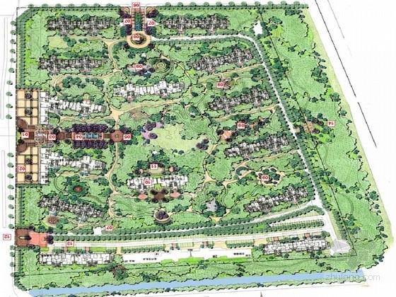 [连云港]新古典自然居住区花园景观规划方案